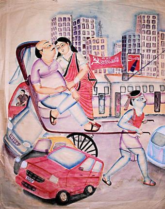 Modern Kalighat Art