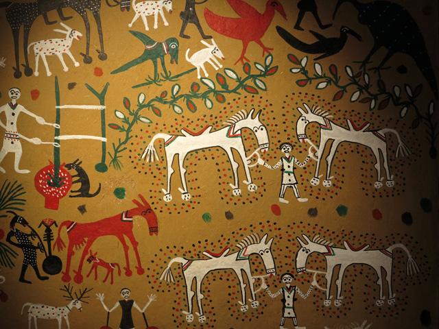 Pithora  bapdi ancestor god