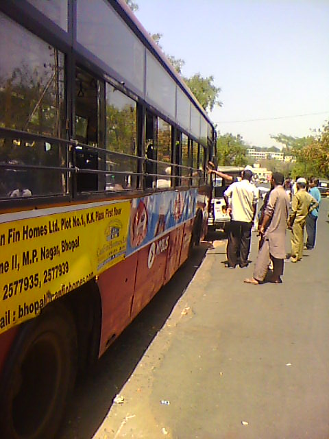 Bus Accident, New Market Bhopal