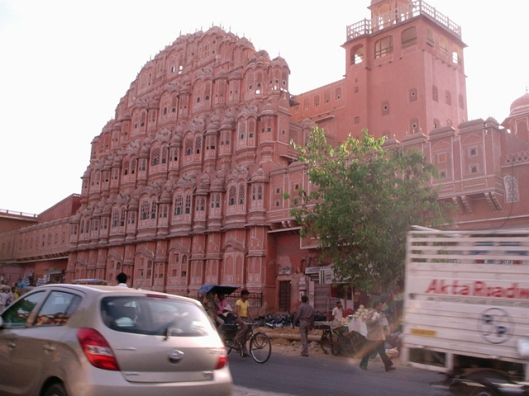 Jaipur's Hawa Mahal or Palace of Winds