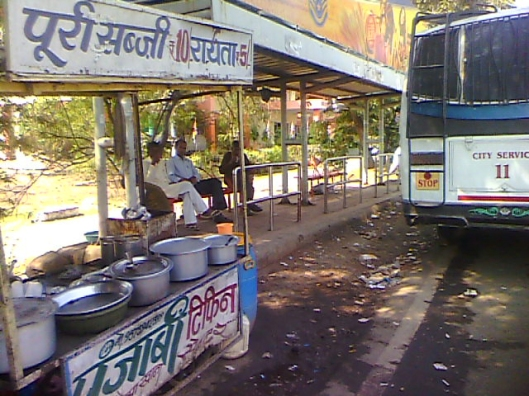 Trilanga Bus stop Bhopal