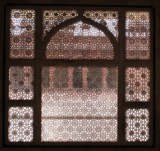 Jali screen Salim Christi Tomb, Fatepur Sikri, India