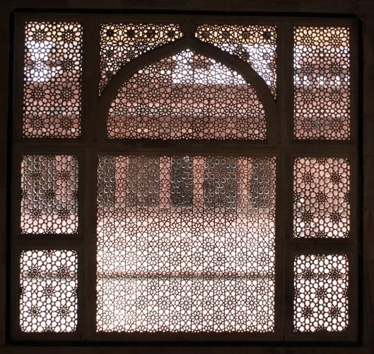 Jali screen Salim Christi Tomb, Fatepur Sikri, India
