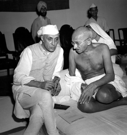 Gandhi & Nehru 1942