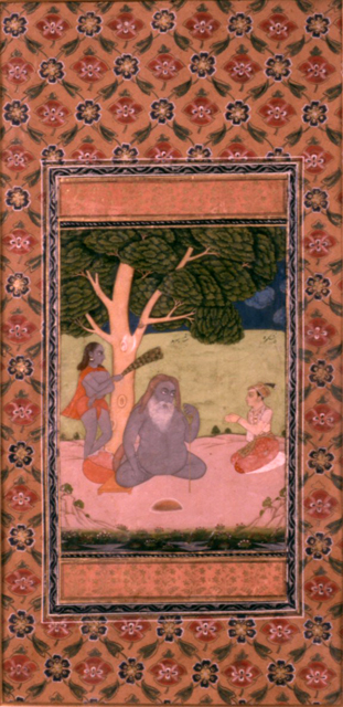 Said Sarmas the naked sufi sadhu