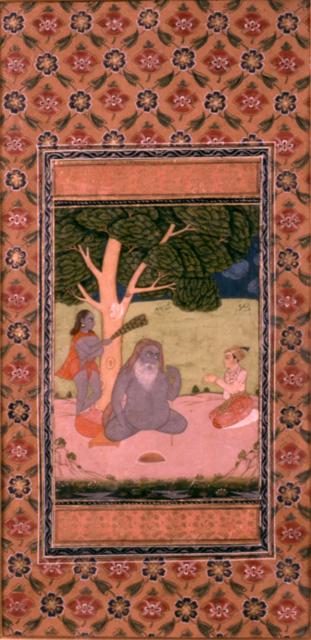 Said Sarmas the naked sufi sadhu