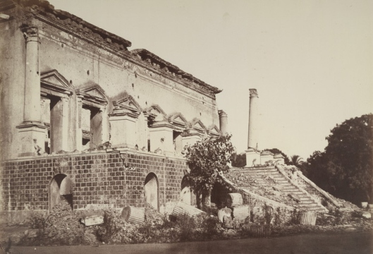 Chandri Chowk Palace in 1857