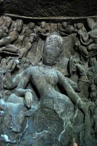 The Ardhanarishavara at Elephanta