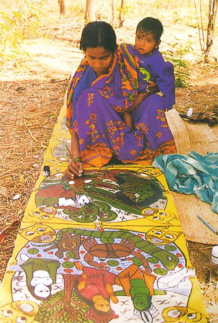 Patua Painting Myths