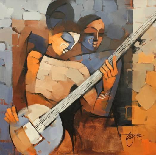 Wonderfull painting by Deepa Vedpathak
