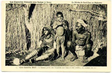 bhil postcard