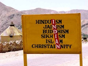 india calling-religious unity