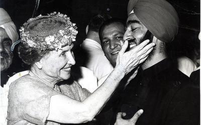 Helen Keller in India