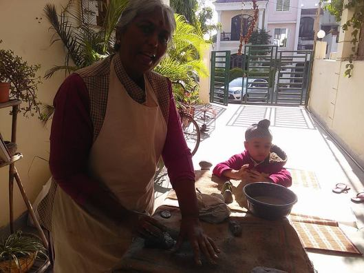 Pottery workshop at  'Merkaba the Ascension' my Bhopal home.