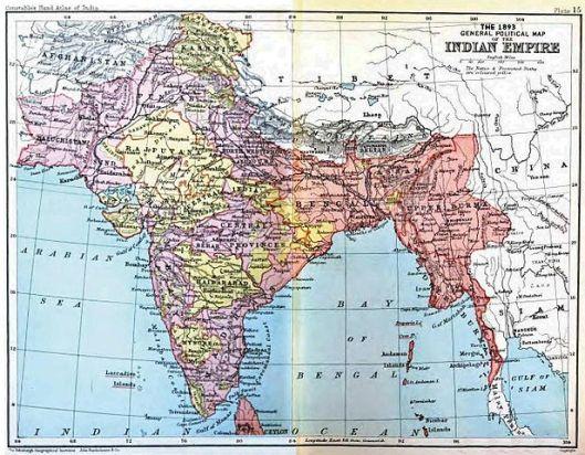 British India 1893