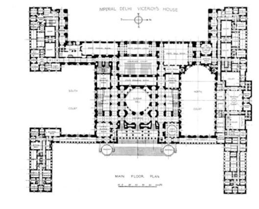 Viceroys Floorplan