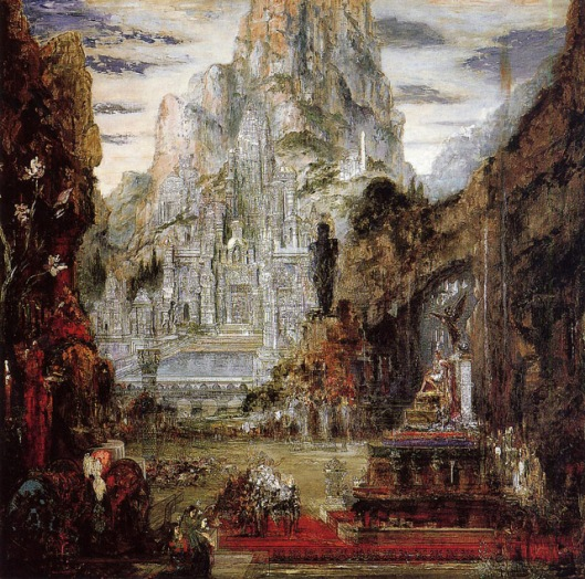 Le Triomphe d'Alexandre le Grand Gustav Moreau